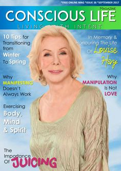 Conscious Life Free Online Mag - Sept 2017 Ed 38