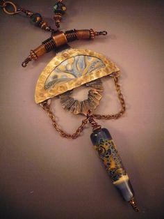 """Nova Sky Burst"" Necklace from Allison L Norfleet Bruenger Collections"