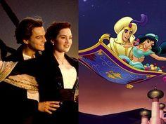 Aladdin And Titanic are the same movie