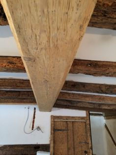 The Viable Alternative To Sandblasting Or Chemical Stripping Of Painted Varnished Stained Oak Beams Love It For Home Pinterest