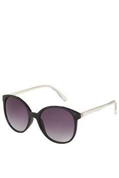 Lucie Preppy Round Sunglasses