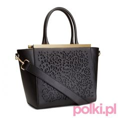 Czarne torebka H&M #polkipl | #torebka