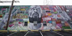 African American Artist, American Artists, Race In America, North America, Kehinde Wiley, Mural Art, Murals, Protest Art, Outdoor Art