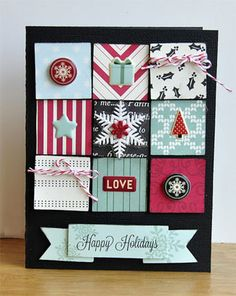 American Crafts: Christmas Cards
