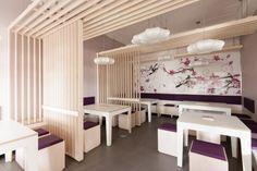 romantic japanese style restaurant interior design