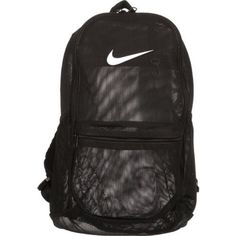 Nike Brasilia Mesh Backpack - Black * You can find out more details at the link of the image. (This is an affiliate link) #TravelBagpacks