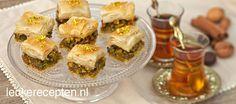 high tea baklava