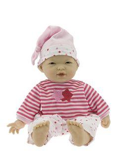 JC Toys La Baby 11-Inch, Asian --- http://www.amazon.com/JC-Toys-Baby-11-Inch-Asian/dp/B002APM86M/ref=sr_1_11/?tag=telexintertel-20