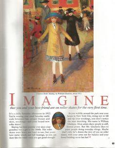 American Girl Magazine - January 1993/February 1993 Issue - Page 50 (Imagine...)