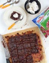 Bezglutenowe brownie z wiśniami Calzone, Steak, Pork, Gluten Free, Beef, Vegan, Cake, Desserts, Pizza