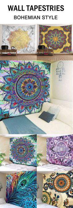 Boho wall tapestries