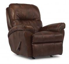Flexsteel Living Room Leather Or Fabric Rocking Recliner At Hatch Furniture  At Hatch Furniture In Yankton, South Dakota