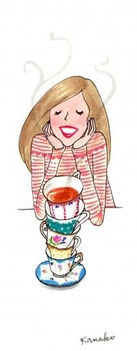 Cup after cup of tea!