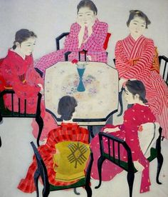Red Clothes by Akino Fuku 1938