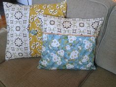 Updated pillows for my sofa.  www.thesolutionocala.com