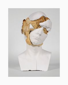tim silver bakes bread in busts for sculptural oneirophrenia series