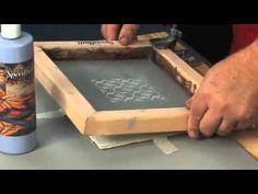 Learn how to screen print on tiles using Speedball Products! For more information visit us at www.speedballart.com