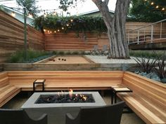 bocce ball court - Outdoor Living Space Finalist in the 2015 Gardenista Considered Design Awards Outdoor Living Rooms, Outdoor Spaces, Living Spaces, Outdoor Fire, Outdoor Seating, Outdoor Decor, Outdoor Sheds, Trampoline, Bocce Ball Court