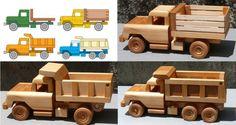 wooden toys plans free trucks