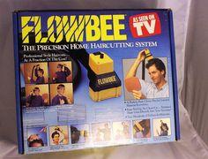 Flowbee Precision Haircutting System Haircut Trim Trimming Vacuum Kit Hair Cut #Flowbee