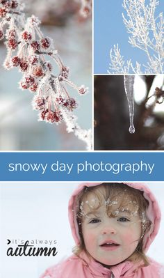 SNOW DAY PHOTOGRAPHY TIPS | post shares 7 tips for getting great photos on snowy winter days. #photography #snow