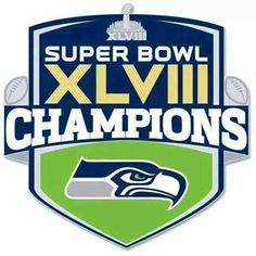 Seahawks are the Super Bowl 48 Champions!!