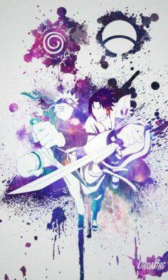 Naruto and Sasuke Uzumaki va Uchiha Naruto Shippuden Sasuke, Anime Naruto, Guren Naruto, Naruto Sasuke Sakura, Naruto Art, Itachi Uchiha, Sasunaru, Boruto, Narusasu