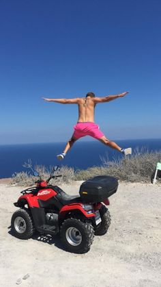 My Move to Europe part 6 (Santorini! Travel Workout, Photography For Sale, Santorini, Atv, Sailing Ships, Fitness Tips, Vancouver, Greece, Europe