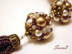 MK Baroca Bead | biser.info - all about beads and beaded works  (Free instructions with photos)