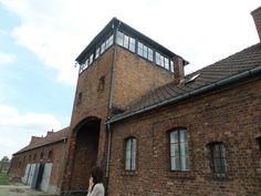 Auschwitz II. Pic by Demi Smits, Auschwitz Study Group member.