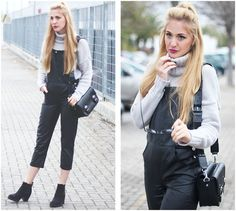 Get this look: http://lb.nu/look/7225962  More looks by Marta M: http://lb.nu/user/169991-Marta-M  Items in this look:  Style Moi Dungarees, Zaful Sweater, Primark Boots   #casual #minimal #street