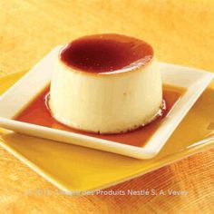 Creme Caramel Recipe - Cream Caramel Custard Pudding - Nestle Family cups milk Less than half cup of sugar 6 eggs Can of condensed milk Cold Desserts, Just Desserts, Delicious Desserts, Dessert Recipes, Caramel Pudding, Custard Pudding, Caramel Recipes, Just Cooking, How Sweet Eats