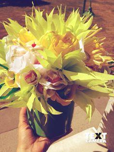 Chocolate Bouquet - Pralinenstrauss Chocolate Bouquet, Tableware, Treats, Dinnerware, Dishes