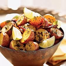 Potatoes are a staple throughout India. While Northern Indian cuisine is not known for hot and spicy dishes (unlike the southern part of the country),