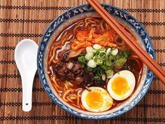 If you're ready to give making ramen from scratch at home a try, we've rounded up our favorite recipes for classic (and not-so-classic) broths and flavorful toppings like marinated eggs and braised pork. And in case there are still a few instant packs in your cupboard, we've got recipes like ramen pizza and ramen-crusted fried chicken to put them to good use.