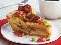Peppered Bacon Hash Brown Pie