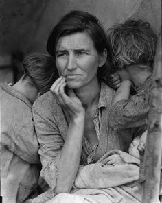 This woman's face says it all, I'll never forget the stories that my Dad always told me about this time.