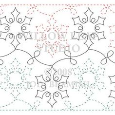 Teryl McKnight from Innova show us how to use longarm templates ... : snowflake quilting stencil - Adamdwight.com