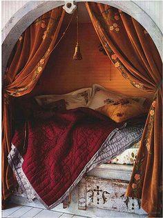 A princess should sleep here