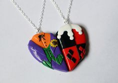 These Superhero and Villain Friendship Necklaces Are Charming