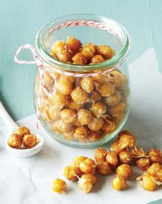 Salty Parmesan and pungent garlic mingle with crunchy roasted chickpeas in our reader's winning recipe, which she created for her nut-allergic sons.