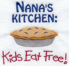 not pictured in teeny tiny print ~~ menu and times available, ...depends on whether Nana wants to eat out or not.