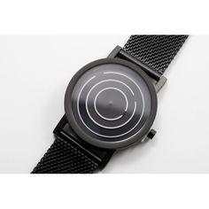 Free Time Black Mesh | Projects | TicTacToy.ru - магазин дизайнерских часов