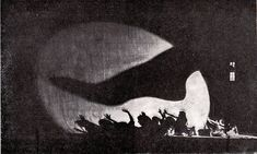 """Laterna Magika"" - set by Josef Svoboda, Prague (1958-1961)"