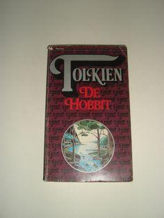 J.R.R. Tolkien, De Hobbit, Dutch, paperback, 1979, 17th printing, Tolkien logo cover