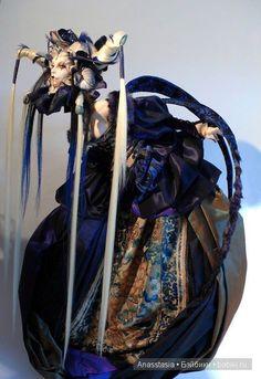 Необычные авторские куклы Вирджинии Ропарс (Virginie Ropars dolls) / Авторская кукла известных дизайнеров / Бэйбики. Куклы фото. Одежда для кукол