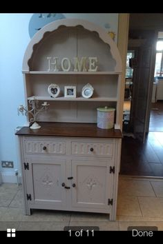 I've have just bought this exact Dutch dresser and paint colour. Hope it turns out as well..