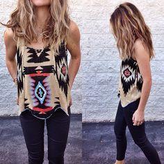 A S C O T + H A R T another look at the aztec sweater // #ascotandhart