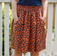 Sewing Like Mad: Summer skirts with pockets #tutorial
