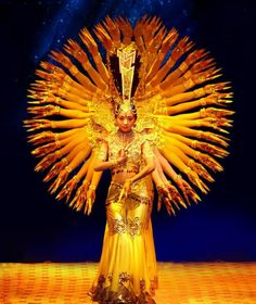 Chinese hearing disabled Guan Yin dance